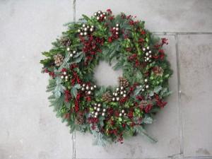 Winter Decorating - Wreath